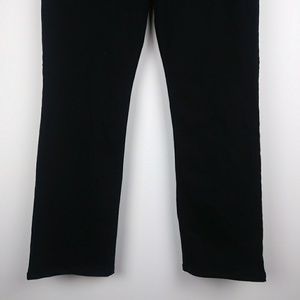 NYDJ Jeans - NWT NYDJ Black Straight Leg Jeans Plus Size 14
